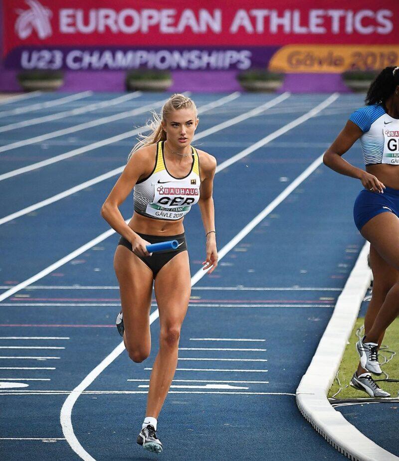 Німецька легкоатлетка Аліса Шмідт - найсексуальніша спортсменка світу