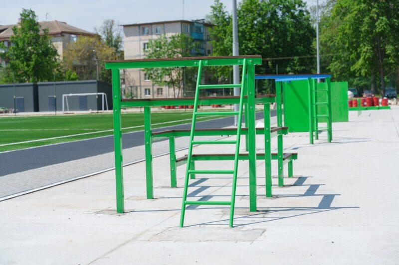 У Вінниці будують стадіон для школярів