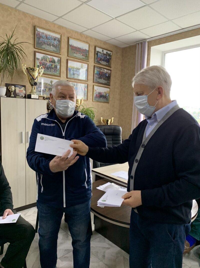 Обласна асоціація футболу підтримала ветеранів гри № 1