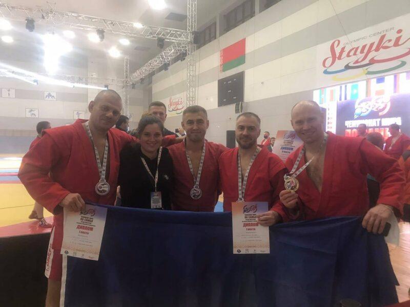 Вінничанин Борис Максимчук виграв срібло чемпіонату світу з самбо серед майстрів