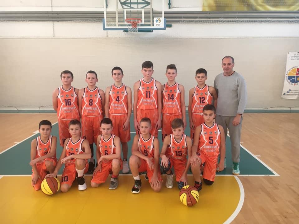 Збірна Вінниччини успішно дебютувала у Всеукраїнській юнацькій баскетбольній лізі