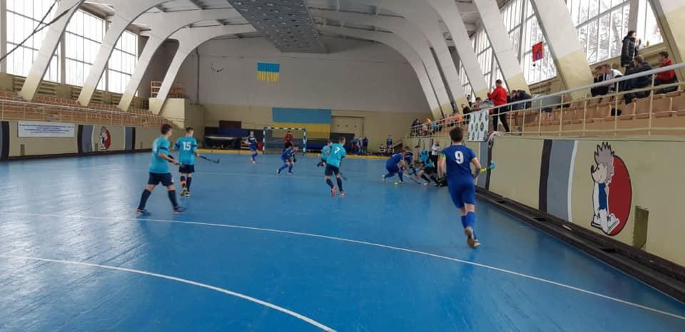 Вінничани вийшли в лідери чемпіонату України з індорхокею