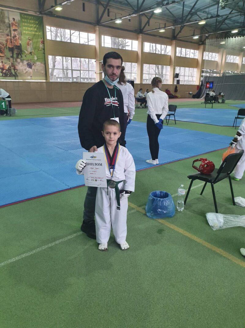 Вінницькі тхеквондисти із «Red Sun» відзначилися на Всеукраїнському турнірі у Харкові