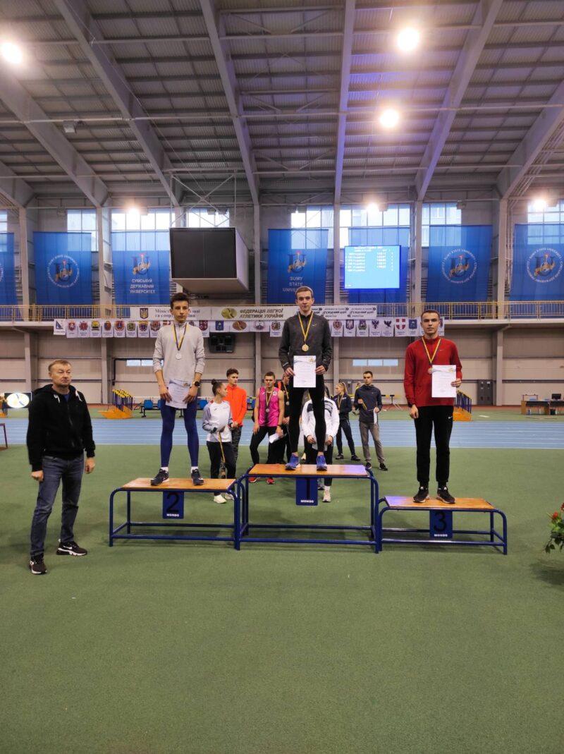 Чотири бронзи вінничан на чемпіонаті України з легкої атлетики у приміщенні