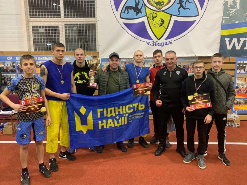Вінницька збірна увійшла до трійки найкращих на Кубку України із фрі-файту