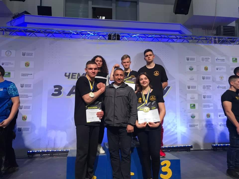 Армспортсмени Немирова здобули путівки на чемпіонати Європи і світу