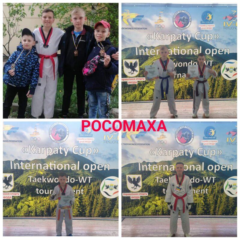 Звитяги вінницьких тхеквондистів на міжнародному «Кубку Карпат»