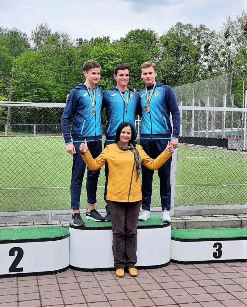 «Колосівські» легкоатлети показали високі результати на юнацькому чемпіонаті області