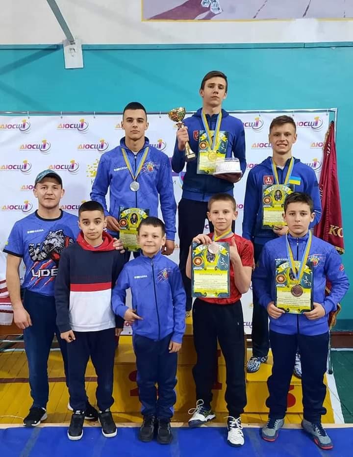 Вінничани зібрали трофеї на Всеукраїнській арені