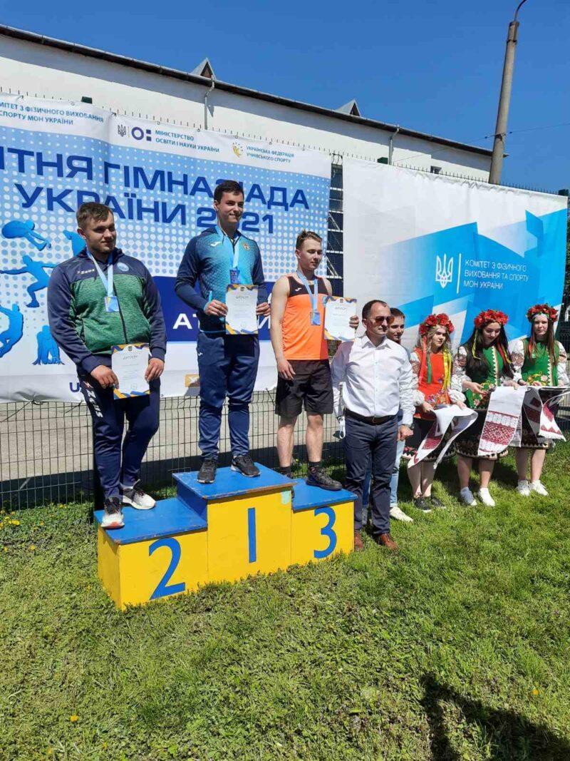 «Колосівські» легкоатлети із Мурованих Курилівців стали призерами Гімназіади України