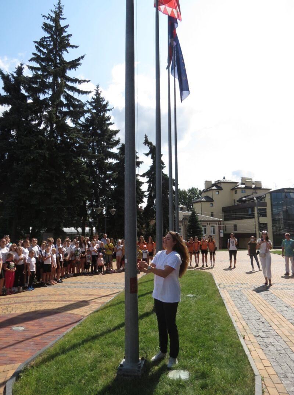 У Вінниці підняли Олімпійський прапор