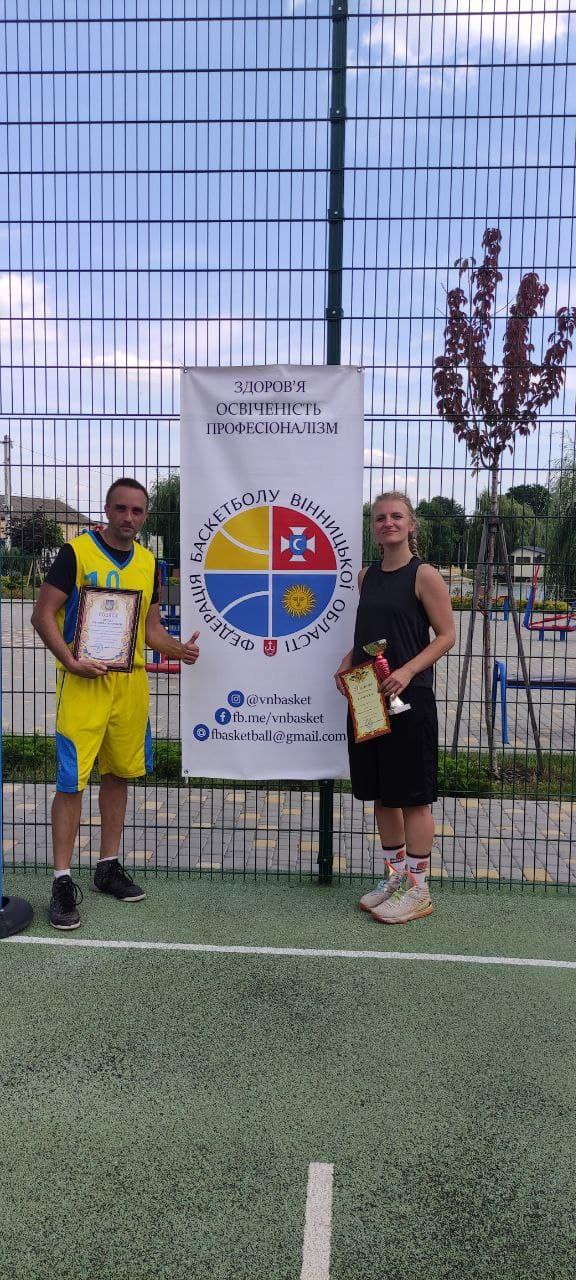 У Тростянці до Дня Незалежності розіграли «Відкритий Кубок» із баскетболу