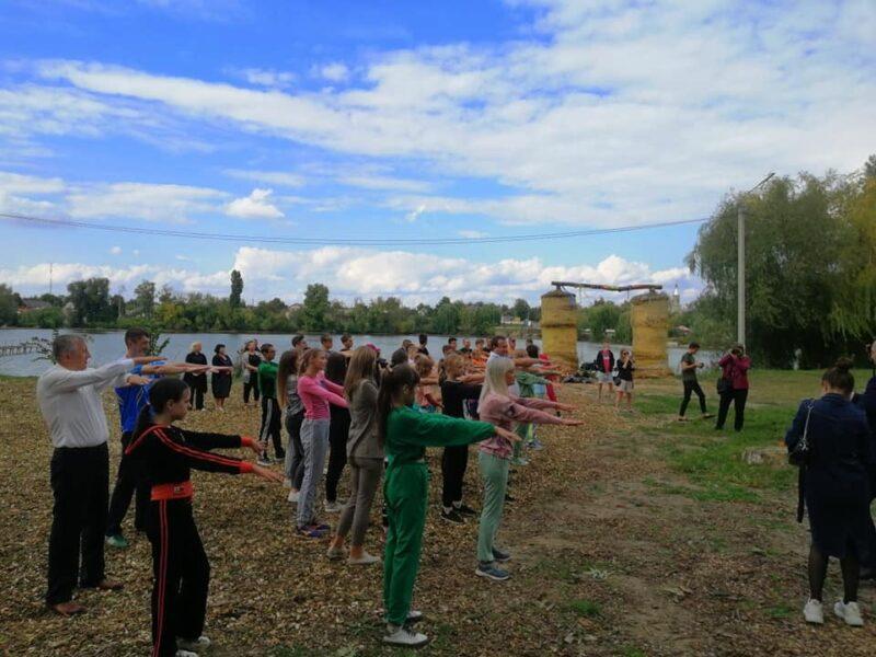 «Активний парк» започаткували в Іллінцях
