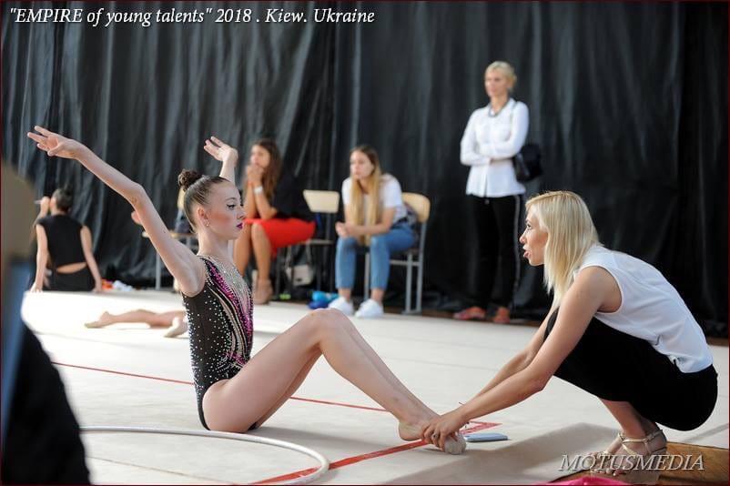 Анна Миргородська: «В художню гімнастику я прийшла аж в сім років»